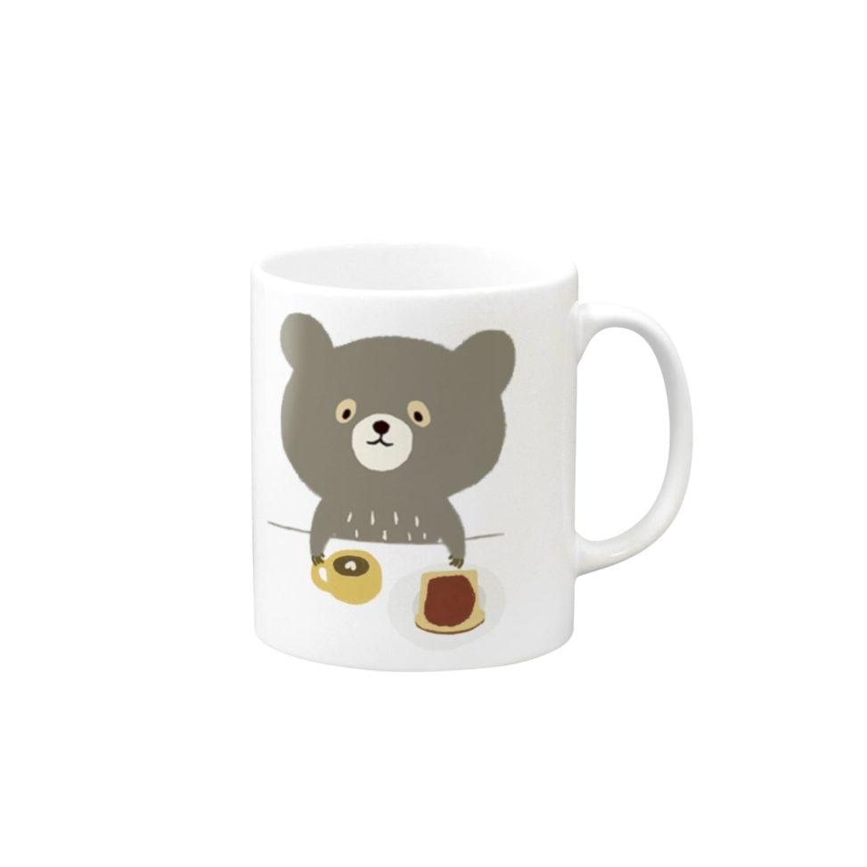 bear coffee cup