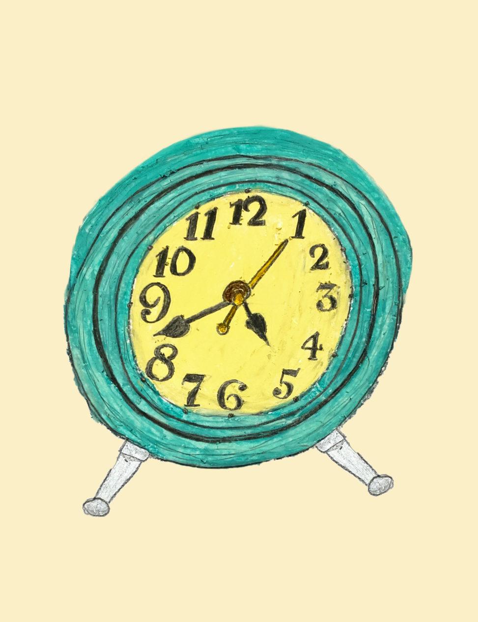 レトロ置き時計