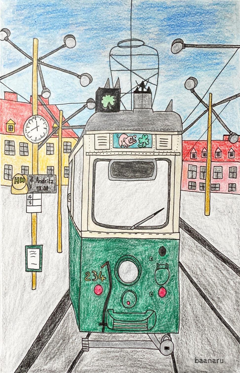 グラーツの路面電車