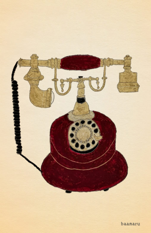 レトロ電話機