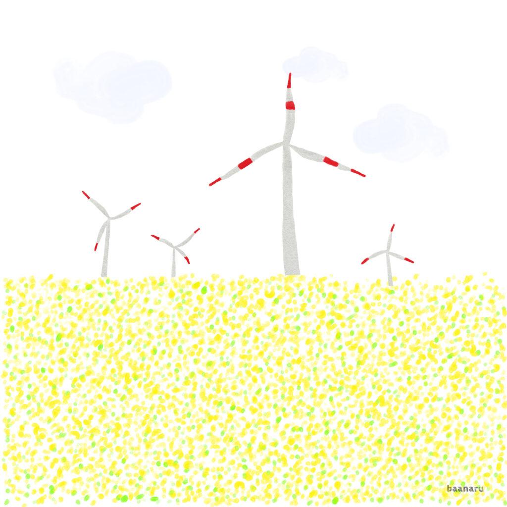ドイツの風車